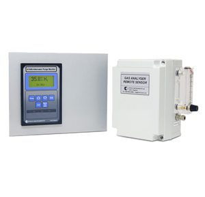 K1650 — Hydrogen Purity Monitor for Power Station Alternator and Turbines Purge (Panel Mount)