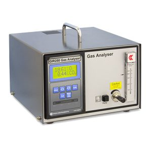 GIR250 — Oxygen and carbon dioxide analyser (Bench Top)
