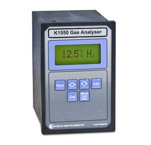 K1550 — Hydrogen, Helium, Argon, Xenon and SF6 Gas Analyzer (Panel Mount)