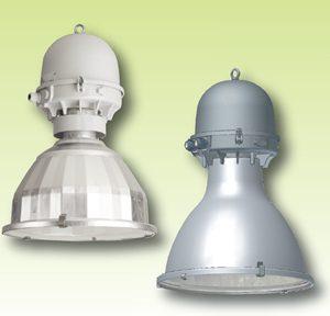 Подвесные светильники с отражателем, с высокой степенью защиты IP54 / IP65 Серия 3469 — 3489… / 3569 — 3589.