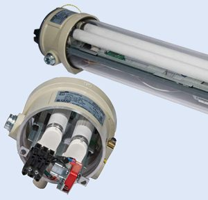 Взрывозащищенные светильники линейного типа AB 12?LED/AB 12?E/AB 12?C (Зоны 1, 2, 21, 22)
